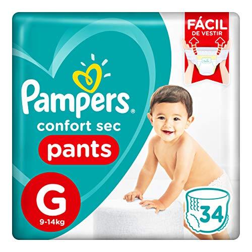 Fralda Pampers Confort Sec Pants G 34 Unidades, Pampers