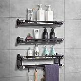 Guoc Set de Accesorios de baño Tradicional,Set de baño,Metal,Montado en la Pared