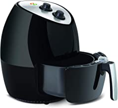 Air Fryer Oven Oil-Free Convection Aired Cooker 1350W 2.5 Quart Healthy Cooking Small Kitchen Appliance Mothers Choice Adjustable Time & Temperature Control Removable Dishwasher Safe Easy Cleaning Diet Friendly Best Housewarming Gift (2.5L)