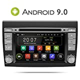Autoradio Aumume Android 9.0 pour Fiat Bravo (2007-2012) avec Navi, Support Autoplay...