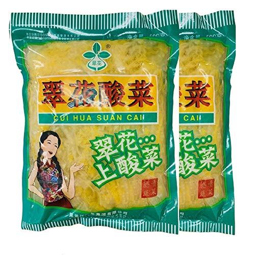 翠花酸菜500g×2 中国本場酸菜 白菜の酢漬 中国東北地方名物・鍋用・餃子の具