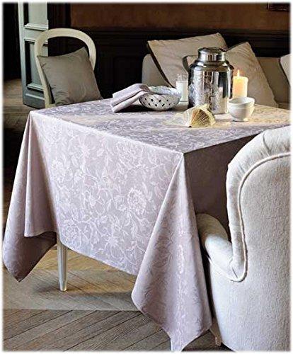 GarnierThiebaut 30168Mille sortilegi Tovaglia Cotone Antracite 250x 180cm