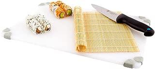 Bamboo Sushi Mat, Sushi Roller, Sushi Rolling Mat - Square - 10.5 Inches - 1ct Box - Restaurantware