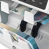 Safescan 2985-SX - Hochgeschwindigkeits-Banknotenwertzähler und -sortierer für unsortierte Banknoten mit 7-facher Falschgelderkennung, 112-0649 - 4