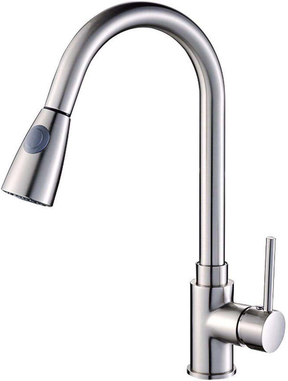 Yuanshuai88-Faucet Faucet brushed hot and cold sink faucet