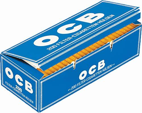 OCB-Vertriebs-GmbH 1000 (5x200) OCB® (Hülsen, Filterhülsen, Zigarettenhülsen)