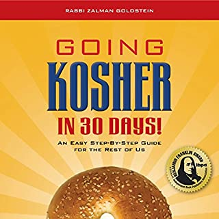 Going Kosher in 30 Days audiobook cover art