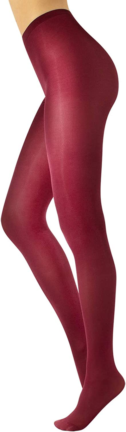 CALZITALY Glossy Tights | Black, Green, Bordeaux, Blue | M, L, XL | 70 DEN | Made in Italy
