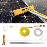 YNWUJIN 屋外の清掃ツール9Mの窓の棒、キャラバン洗濯、トラック、キャンポ、バス。洗車。水ブラシ。太陽光発電および太陽電池パネルにも適しています
