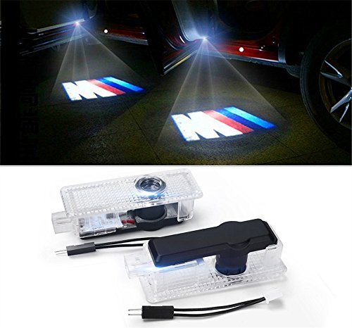 2 x LED Logo 3D Einstiegsbeleuchtung Projektor Logo