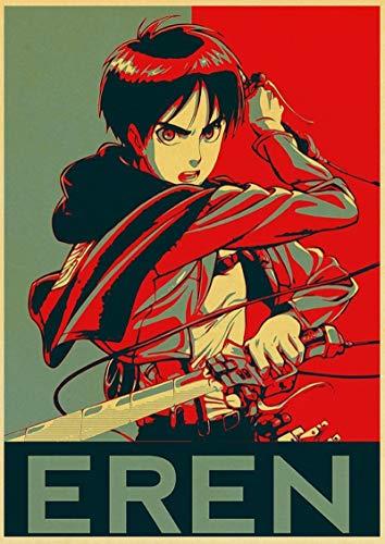 ALLYAOFA Personaje de Anime Cartel de Chapa de Metal Retro Bar Club Hogar Arte de la Pared Decoración Placa de Metal Colgante de Pared 7.8x11.8 in (20 cm x 30 cm) Q