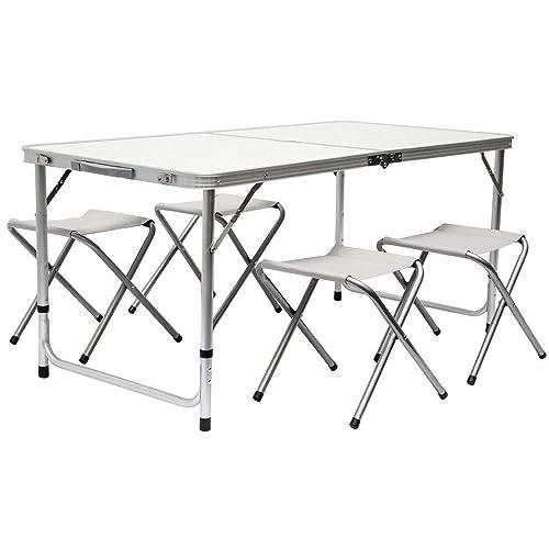 Yellowstone Alu table de camping table d/'appoint camping table pliante table de roll légèrement