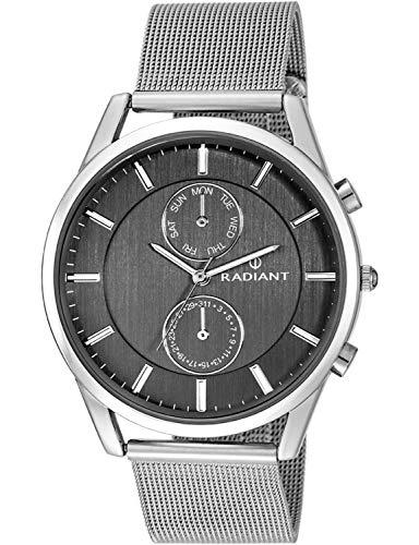 Radiant Reloj Analógico para Hombre de Cuarzo con Correa en Acero Inoxidable RA407701