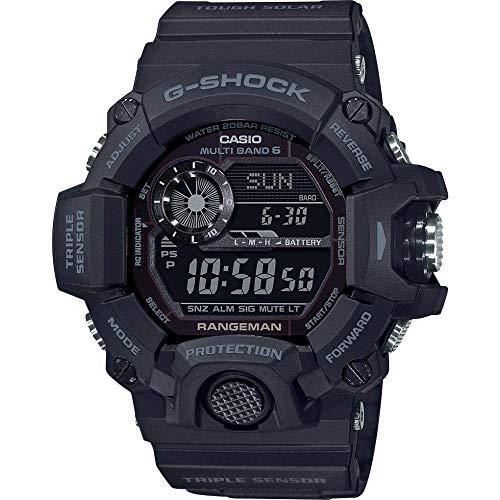 Casio G-Shock Rangeman GW-9400-1BER Orologio resistente agli urti, solari e radiocontrollato.