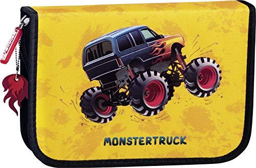 BRUNNEN Schüler-Etui Monstertruck 2 Klappen