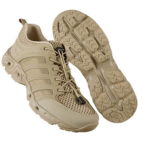 FREE SOLDIER Outdoor Men's Quick Drying Lightweight Sport Hiking Water Shoes (Sand 9 M US)