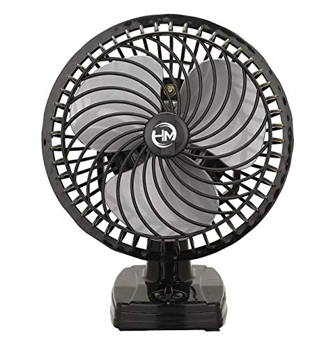 HARMAN INDUSTRIES Air Black Wall Cum Table Fan || with Powerful High 3 Speed Motor 9 inch Size 225mm