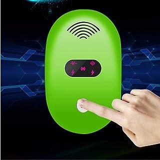 GLJ Dispositivo de Ahorro de energía súper Inteligente de Control de plagas del Rapero electrónico Inteligente Adecuado para Diversos Lugares almacén Familiar Hotel Oficina Restaurante Hospital Negro