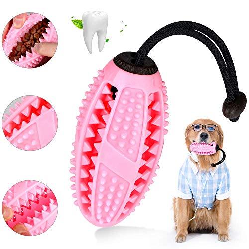 ASANMU Hund Zahnbürsten Stick, Ball Leckerli-Spender für Hunde Welpen-Zahnpflege für verwendet Werden Hunde Kauspielzeug Spielzeug multifunktionales Haustierprodukt Welpen Beißfest Kauspielzeug