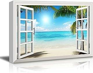 wall26 – Beautiful Tropical Beach Gallery – Canvas Art Wall Art –..