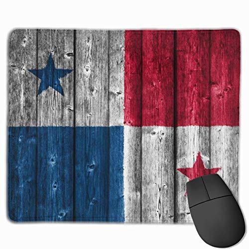 Flagge von Panama Retro Rechteckige rutschfeste Gaming-Mauspad Tastatur Gummi-Mauspad für Heim- und Büro-Laptops