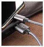 Cable de extensión USB 3.1A cordón de teléfono trenzado de nylon de metal para iPhone Cable USB de iluminación de cargador rápido para iPhone 11 x 8 7 6 Pro Max Plus iPad Cables de teléfono celular