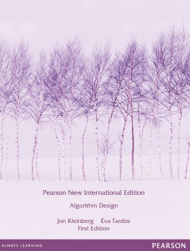 Algorithm Design: Pearson New International Edition (English Edition)の詳細を見る