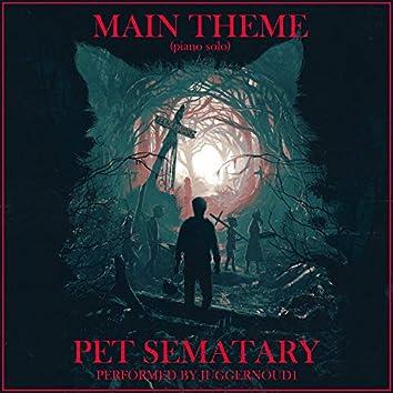 "Main Theme (From ""Pet Sematary"") [Piano Version]"