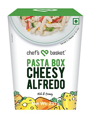 Chef's Basket Pasta Box, Cheesy Alfredo, 237g