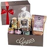 Gepp's Feinkost Geschenkbox Verwöhnpaket für Frauen | Geschenkkorb gefüllt mit köstlichen Delikatessen wie Erdbeer-Champagner Marmelade, Lemon-Ingwer Tee...
