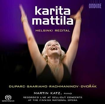 Helsinki Recital: Karita Mattila (Live)