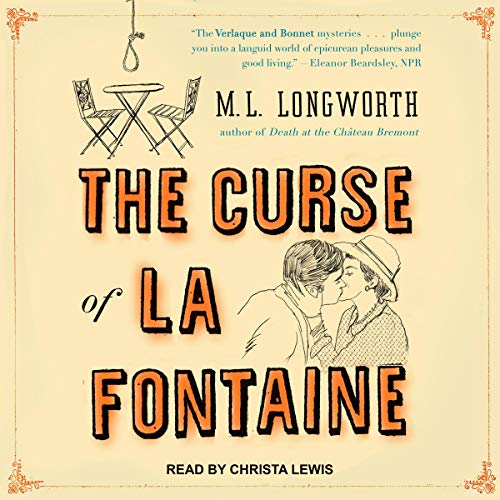 The Curse of La Fontaine audiobook cover art