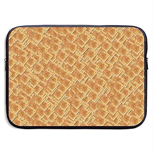 Laptop Hülle Hülle Brot Toast Neopren Abdeckung Tasche Kompatibel Ipad Pro,13 Zoll/33X26 cm