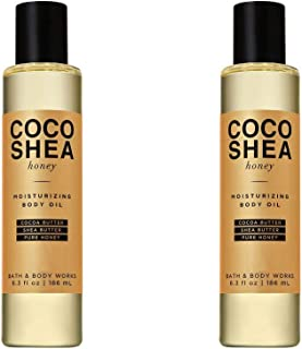 Bath & Body Works 2 Pack CocoShea Honey Moisturizing Body Oil 6.3 Ounce Each