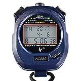 Irfora 60 memorie Handed Sport Cronometro con conto alla rovescia e cronometro