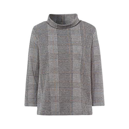 More & More Glencheck Sweatshirt Active, Creme(powdercrememu (4031)), Gr. 38