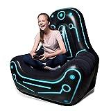 NHR Super Comfortable Gaming Chair Inflatable Mainframe Air Chair Sofa, (Black)