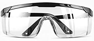 ゴーグル 一眼型保護メガネ 安全メガネ 防曇 保護用アイゴーグル 花粉用メガネ 防塵ゴーグル 作業用 眼鏡着用可 男女兼用…