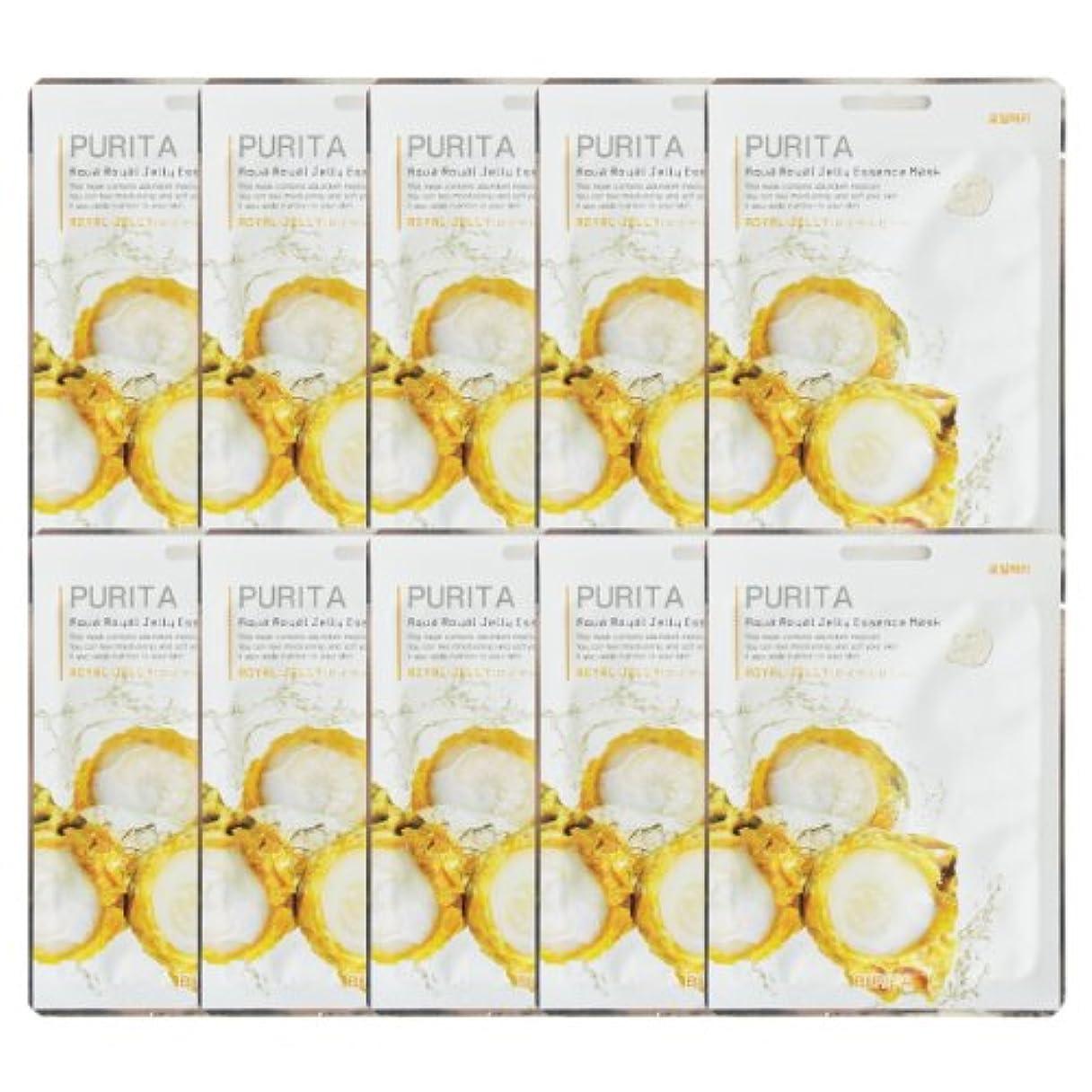 平衡教義ヒョウPURITA ピュリタ エッセンスマスク ロイヤルゼリー 10枚セット