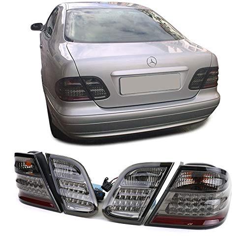 Carparts-Online 13007 LED Rückleuchten schwarz smoke chrom