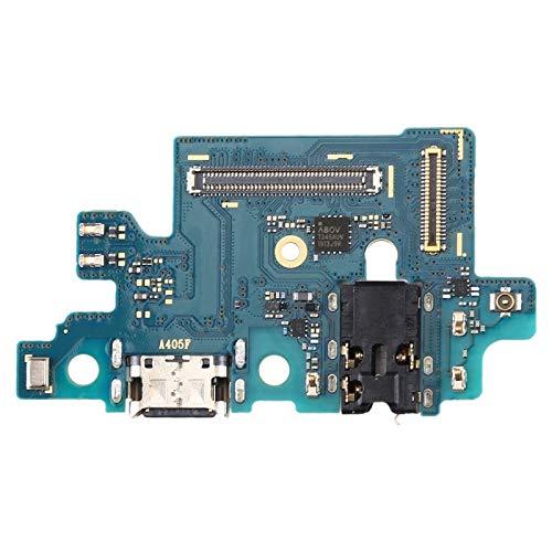 Fauge Cargador USB Puerto de Carga Conector de Base Cable Flexible Pieza de Repuesto para Galaxy A40 SM-A405F SM-A405 (A40)