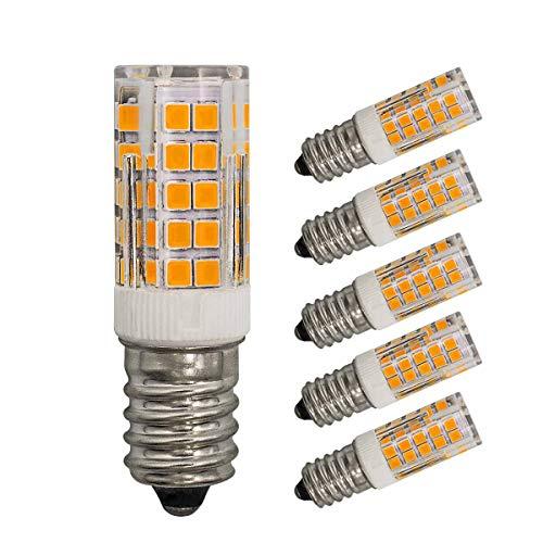 5er Pack E14 LED Lampe Dimmbare 4w Ersetzt 40W 35W Warmweiß 220V 230V 3000K 430Lumen Schlafzimmer Wandleuchte Wohnzimmer Kronleuchter Klein Leuchtmitteln [MEHRWEG]