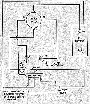 Winch solenoid diagram