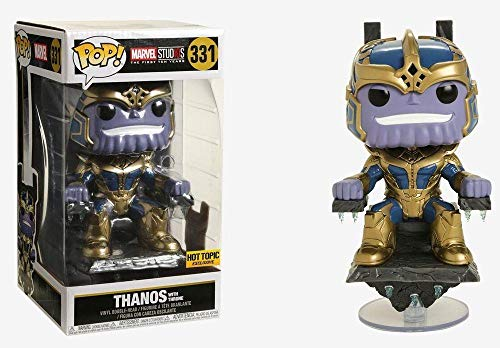 Funko Pop Thanos 331 Marvel Studios Exclusive Infinity War Figuras 17 cm Cinema 1