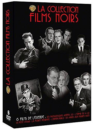 La Collection Films Noirs-Coffret : Ennemis publics + Le Petit César + Les Anges aux Figures Sales + La Forêt pétrifiée + Les Fantastiques Années 20 + l'enfer est à Lui