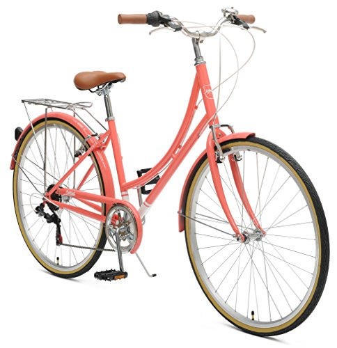 Retrospec by Westridge Critical Cycles Beaumont-7 Seven Speed Lady's Urban City Commuter Bike,...
