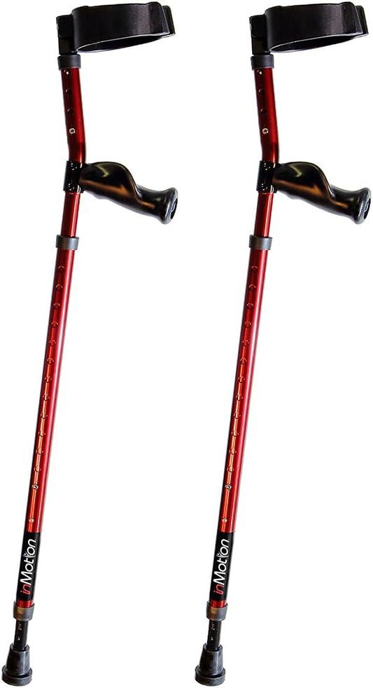 in-Motion Forearm Crutches 価格 交渉 送料無料 買い取り Spring Assist Ergonomic Handles