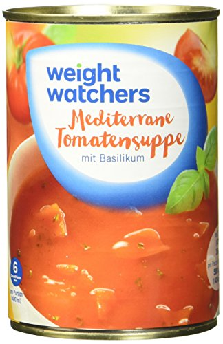 Weight Watchers Mediterrane Tomatensuppe, Dose, 6er Pack (6 x 400 ml)