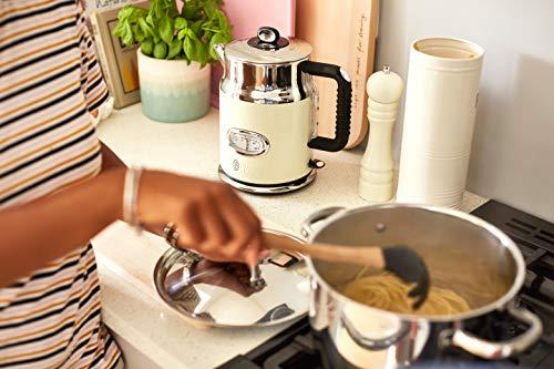 Russell Hobbs Retro Vintage Cream 21672-70 Wasserkocher (2400 W, 1.7 l, mit stylischer Wassertemperaturanzeige, Schnellkochfunktion) creme - 8