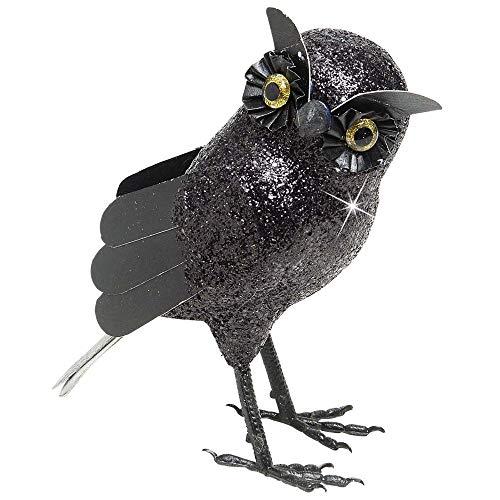 Widmann Hibou paillettes unisex-adult, noir, taille unique, vd-wdm7856p